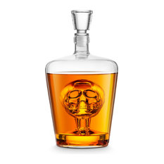 Jeray Final Touch Skull Decanter