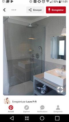 Besoin de votre avis !! Meuble salle de bain maconnerie