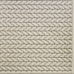 Fibreworks - Mombasa Wool and Sisal Area Rug, Ivory Tusk, 5'x8' - Mombasa by Fibreworks is the perfect marriage of sisal and wool in a modern rug.  The strength and sheen of sisal are only surpassed by the soft hand of the wool.  Stylistically, this rug prevails over all.  Great for use in contemporary settings throughout a home.