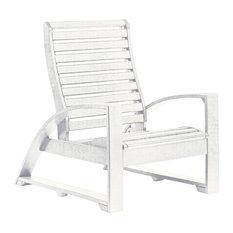 St Tropez Lounger Chair, White