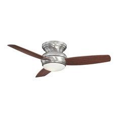 Minka Aire Traditional Concept 44 in. LED Indoor/Outdoor Pewter Ceiling Fan