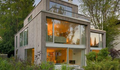 Doppelhaus in München: Schmales Grundstück, clever ausgenutzt