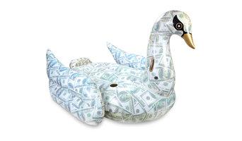 Billionaire Swan Inflatable Premium Quality Giant Size Pool Float