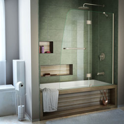 Fabulous Contemporary Shower Doors by PlumbersStock