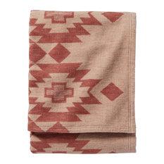 Pendleton Organic Blanket Yuma Star Clay, Queen