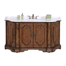 Legion Furniture Solid Wood Sink Vanity With Marble Top 68 Bathroom Vanities