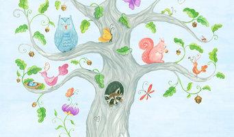 """The Wishing Tree"" Painting"