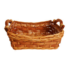 """12"""" Carved Willow Basket"""