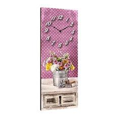 Gardening Wooden Wall Clock
