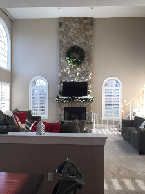 New Photos How To Decorate Two Story Walls