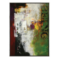 Contemporary Hand Painted Canvas Art, Large-S-Being""