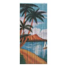 Bamboo Palm Beach Serenity Scene