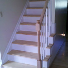 Before and After stairway ideas