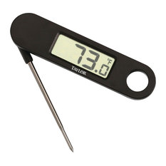 Taylor® 1476 Compact Folding Thermometer With On/Off Button