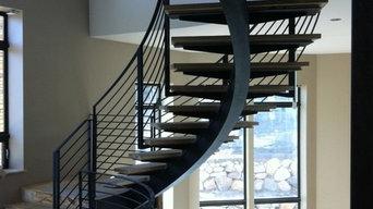 Center Stringer Stairs