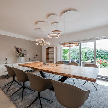Umbau und Modernisierung eines Einfamilienhauses im Raum Mannheim