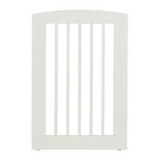 "Ruffluv Single Panel Pet Gate, Large 36"", White"