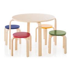 Nordic Table Set, Natural, Multicolor