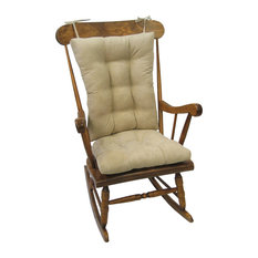 Exceptionnel The Gripper   Gripper Twillo Jumbo Rocking Chair Cushion Set, Stone   Seat  Cushions
