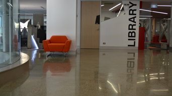 Semi Gloss Polished Concrete - by My Floor