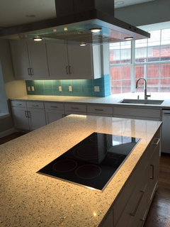 Seeking comments on countertops and backsplash for our kitchen on