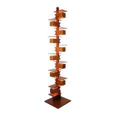 Frank Lloyd Wright Taliesin 2 Midcentury Floor Lamp, Cherry