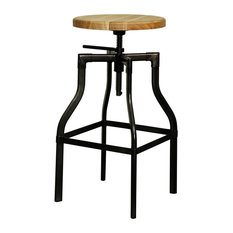 Menlo Bar Stool Gunmetal