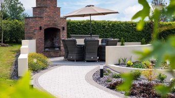 Dungannon - Small Patio Fireplace