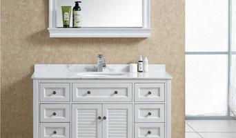 Solid Wood Bathroom Vanities Sets