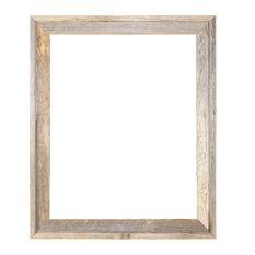 "Tulsa Signature Reclaimed Rustic Barn Wood Open Frame, 18""x24"""