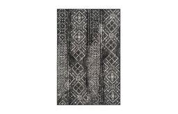 Safavieh Adirondack Collection ADR111 Rug, Black/Silver, 4'x6'