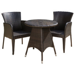 Midcentury Outdoor Pub And Bistro Sets by GDFStudio
