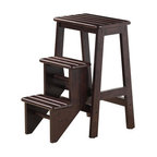 Hallie Step Stool, Cappuccino