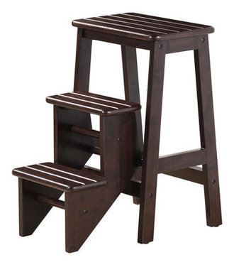 Hallie Step Stool Contemporary Ladders And Step Stools