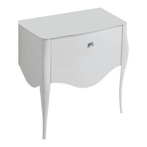 Impero Style Vanity Unit With Swarovski Crystal Detailing, 94x50cm