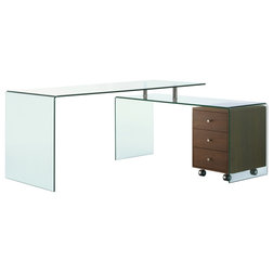 Contemporary Desks And Hutches by GwG Outlet