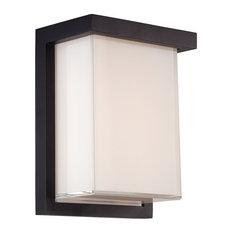 Modern Forms Ledge LED Wall Light, Black