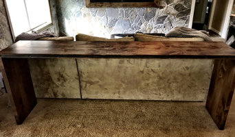 Southlake, TX Dry Bar and Console Table
