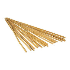 Panacea 89783 Natural Bamboo Plant Stakes, 3', 24 Pack