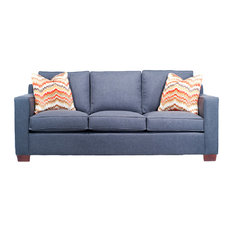Engender LLC   Chloe Sofa With Accent Pillows   Sofas