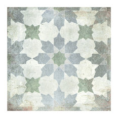 "8.75""x8.75"" Anticato Decor Porcelain Floor and Wall Tile, Set of 20, Varenna"