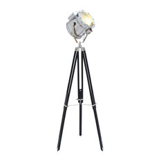 Urban Designs Movie Studios Floor Prop Spotlight With Tripod Lamp