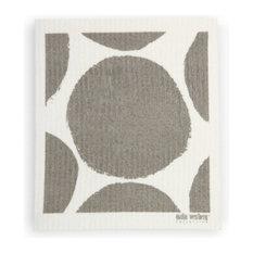 Swedish Dishcloth Bubble Design, Grey