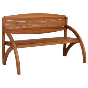 Hadia Wooden Garden Bench