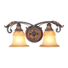 Stained Glass Bathroom Vanity Lights traditional bathroom vanity lights with a stained glass shade   houzz
