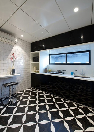 Contemporary Kitchen by 121 Home Decor by Saibaba Stone & Tiles