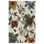 Mohawk - Strata Ume Rug, Multi, 7'6x10' - The Mohawk Ume rug offers affordable style in a multicolor motif.  This rugs printed construction is created with Mohawks exclusive Wear-Dated nylon, making this piece suitable even for high traffic areas of the home.