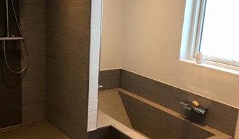 Nyt badeværelse hos Nikolaj