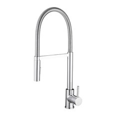 Barista Pull-down Kitchen Faucet, Polished Chrome