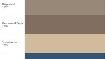 My BENJAMIN_MOORE® Color Palette